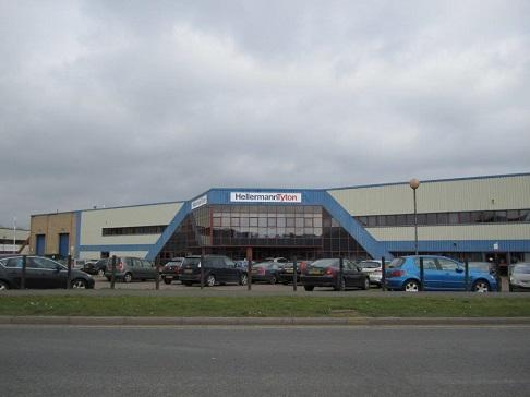 Industrial warehouse, Brackmills