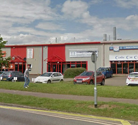 New Instruction Trade Counter Unit To Let, Corby