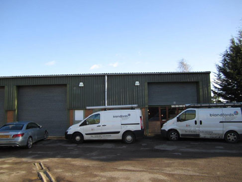 Sale of Industrial units at Kettering